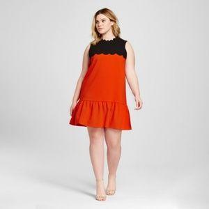 Victoria Beckham Target Drop Waist Dress NWT 1X